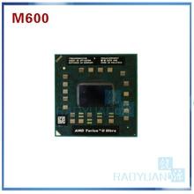 AMD توريون الثاني الترا ثنائي النواة المحمول M600 TMM600DBO23GQ 2.4G 2M cpu latop المعالج المقبس S1