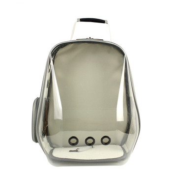 Simple and Generous Panoramic Transparent Space Capsule Pet Backpack Corgi Teddy French Shiba Inu Outdoor Portable Pet Backpack