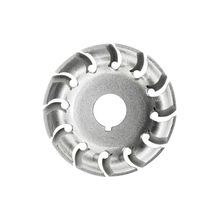 Elektrische Haakse Slijper Vormgeven Blade Wiel Houtsnijwerk 12 Tanden Disc Snijden Frezen Houtbewerking Tool