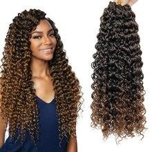 Szydełkowe plecionki 18 cali Ombre twist włosy plecione pasja twist szydełkowe włosy multi twist włosy afro loki na produkty do włosów