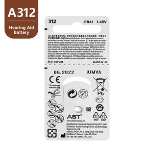 Image 5 - 60PCS ASTเครื่องช่วยฟัง 312 A ZA312 PR41 S312 312 แบตเตอรี่สังกะสีสำหรับเครื่องช่วยฟัง