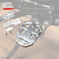 Motocicleta Billet MX ancho apoyapiés pedales resto reposapiés para BMW R1200GS R1200 GS R 1200 GS 2013-2018