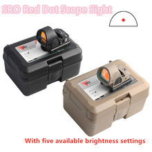 Magorui Mini RMR SRO Red Dot Scope Sight Collimator Glock Rifle Reflex Sight Scope fit 20mm Rail & Glock Mount