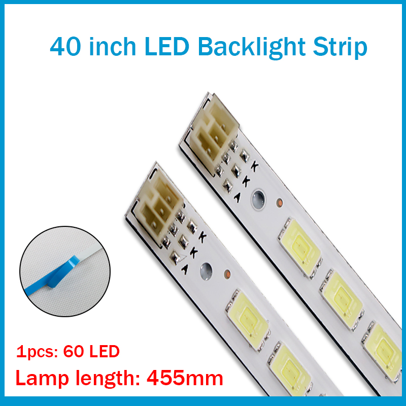 FOR TCL L40F3200B Article Lamp LJ64-03029A 2011SGS40 5630 60 H1 REV1.1 1piece=60LED 455MM