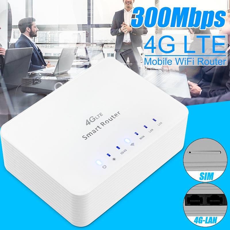 Routeur Mobile LEORY 800Mbps Wifi routeur 4G LTE CPE avec prise en charge du Port LAN carte SIM FDD LTE + TDD LTE