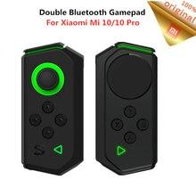 שיאו mi שחור כריש שמאל ימין Gamepad עם חיבור מקרה עבור שיאו mi Mi 10/10 Pro נייד Bluetooth משחק נדנדה בקר