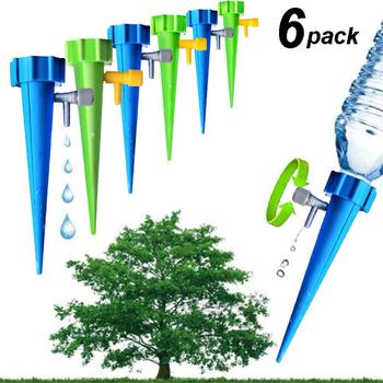 6/12/18 pcs Automatic Watering Kits Garden Supplies Irrigation Adjustable Stakes Device System Houseplant Spikes Plant Flower 4 pcs adjustable automatic plant waterers drip irrigation plant waterer accessories water seepage device houseplant watering