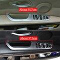 Автомобильное стекло, кнопка подъема стекла, рама, крышка чаши, отделка ABS, углеродное волокно для BMW 3 серии E90 E92 2005-2012, аксессуары для интерье...