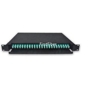 Image 1 - 冷間圧延光ファイバ引き出し odf 24 デュプレックス lc 24 ポート光ファイバパッチパネル分布フレーム