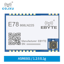цена на LoRaWAN 868MHz 915MHz SX1262 ASR6501 LoRa TCXO Spread Spectrum Module E78-868LN22SLlong Distance Communication  Low Power Module