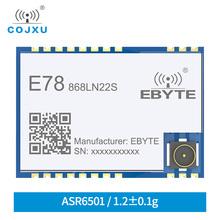 LoRaWAN 868MHz 915MHz SX1262 ASR6501 LoRa TCXO Spread Spectrum moduł E78-868LN22SLlong odległość komunikacja niski moduł zasilania tanie tanio cojxu 850~925MHz