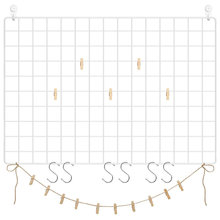 Сетчатая панель фото настенный дисплей сетчатый Настенный декор