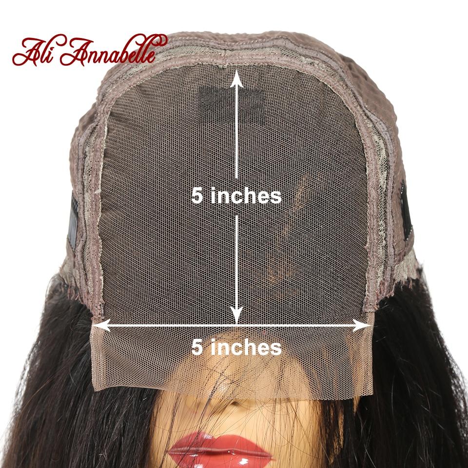 Hded9f2e64d2d42e1a84b36cd92953f57h Lace Closure Human Hair Wigs Brazilian Straight Lace Closure Wig 4*4 5*5 Closure Human Hair Wigs With Baby Hair ALI ANNABELLE