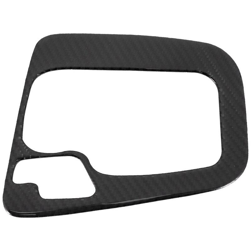 NEW Carbon Fiber Gear Shift Panel Cover Trim Fit for BMW 3 Series E46 1999 2005 Automotive Interior Stickers     - title=