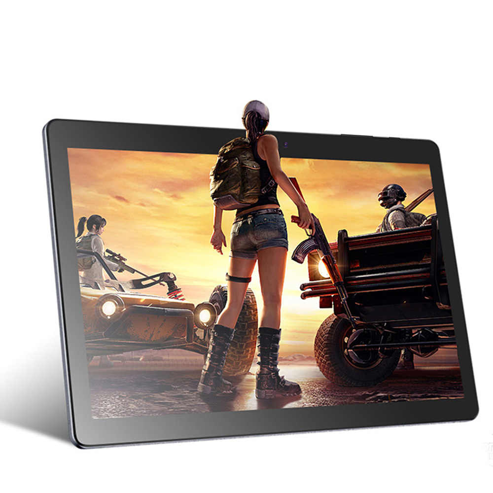 Tablet Android 7.0 Tablet PC 10.1 Inch 1GB + 32GB IPS LCD Quad Core 6000 MAh Wifi bluetooth Desain Bagus Tablet 10 9