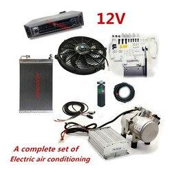 Akumulator samochodowy energia klimatyzacja  klimatyzacja bez benzyny  elektryczna klimatyzacja do koparki dla|Instalacja klimatyzacyjna|   -