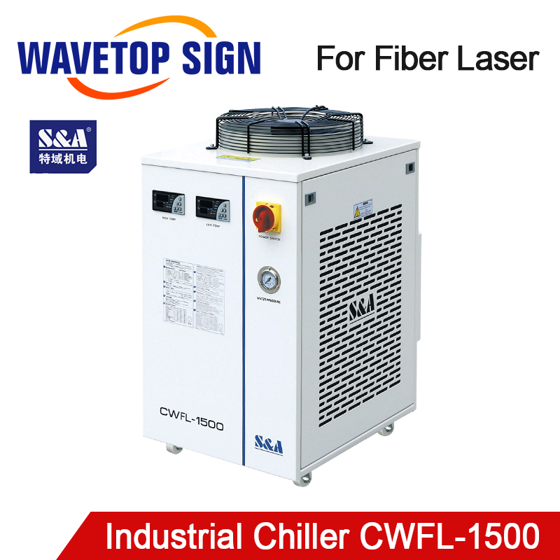 S&A CWFL-1500AN & 1500BN Industry Air Water Chiller For Fiber Laser Engraving Cutting Machine