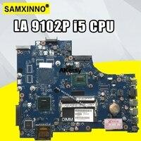 VAW11 LA 9102P REV: 17 de 1.0 For Dell Inspiron 3721 5721 Laptop Motherboard CN 03WVDR 03WVDR I5 3337U CPU mainboard originais