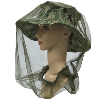 1 sztuk kamuflaż odkryty kapelusz wędkarski moskitiera pszczelarstwo kapelusz latające owady zapobieganie Cap kapelusz typu Bucket Bee Bug czapka z siateczką tanie i dobre opinie JULYHOT fishing cap Stałe Parasolka Fabric