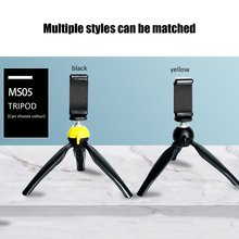 Portable Desktop Support Mini Tripod Stand With Phone Clip For Mobile Phone Dslr Camera Watchvideo Photograph