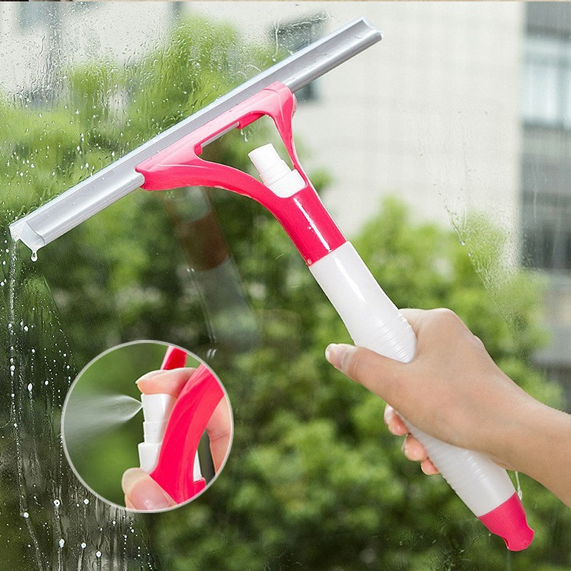 1PC Window Glass Spray Cleaner Household Cleaning Tools Ceramic Tile Brush Car Hand Cleaning Brush Small Glass Window Cleaner