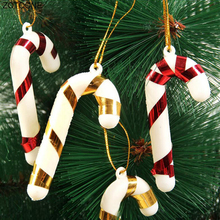 ZOTOONE Christmas Canes Tree Decorations for Home Party New Year Candy Cane Xmas Hanging Ornaments G