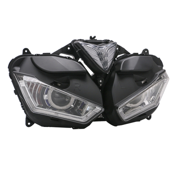 Motorcycle Accessories LED Headlight Assembly Far and Low Beam Lamp for Yamaha R3 R25 2015-2018 V2