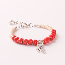 CHENFAN Sells Simple Fashion Handwoven Ceramic Small Jewelry Bracelet for Womens Bracelets Handmade ceramic bracelet jewelry