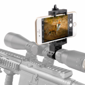 Quick photography Rifle Scope phone Holder Mounting Shoot Mount Adapter for Night vision Gun Airgun Display - discount item  29% OFF Camera & Photo