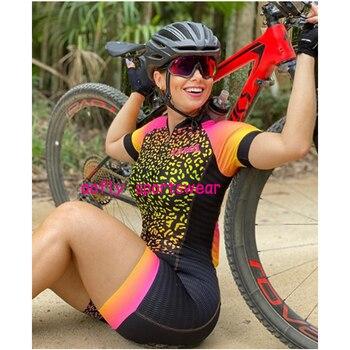 Xama pro equipe conjunto de ciclismo feminino pequeno macaco ciclismo camisa terno manga curta macacão triathlon roupas 1