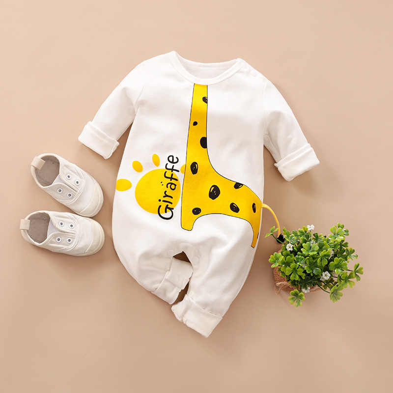 Hat Outfits Set Fall Sleepsuits Clothes Newborn Baby Girl Boy Romper Jumpsuit