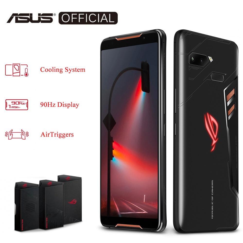Global Version ASUS ROG Phone ZS600KL Smartphone 8GB RAM 128/512 ROM Snapdragon™ 845 Adreno™ 630 NFC Android 8.1 OTA Update