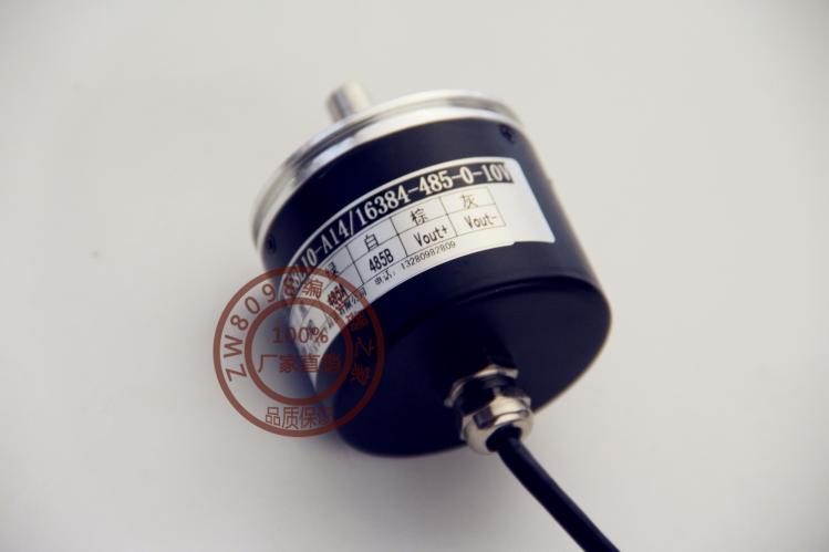 WF58L10-SSI абсолютный кодовый датчик угла поворота Абсолютное Положение кодировщик 24-битный мульти-отложным воротником-поворот кодировщик