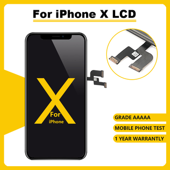 AAA++ LCD Display100%3D Touch Screen For iPhone X OLED Replacement Screen With Digitizer Assembly For iPhone  Repair Tools Gift