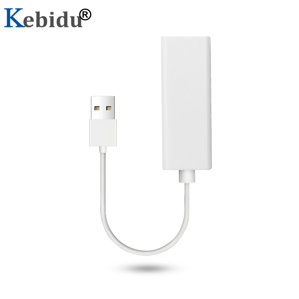 Image 3 - Kebidu USB to RJ45 Lan Adapter network Card RD9700 High Speed For Mac OS Android Tablet PC Laptop Windows XP 7 Promotional-in Network Cards from Computer & Office
