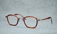 Belight Optical Japan Design Men Italy Acetate Small Retro Vintage Prescription Eyeglasses Optical Spectacle Frame Eyewear