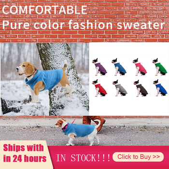 S/M/L/XL Dog Clothes Pet Casual Coat Autumn Large Dogs Coat For Clothing Costume Solid Color Printing Dog Hoodies Products image