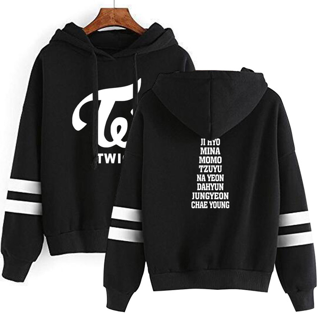 TWICE THEMED STRIPED HOODIE (15 VARIAN)