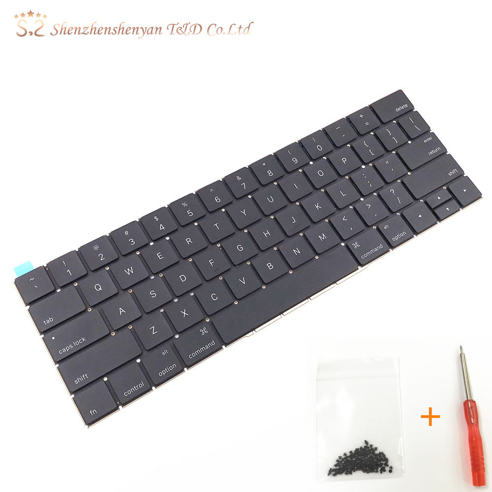 Keyboard for Macbook pro retina laptop A1706 A1707 keyboards 2016 2017 MLH12 MPXV2 EMC3071 EMC3163 image