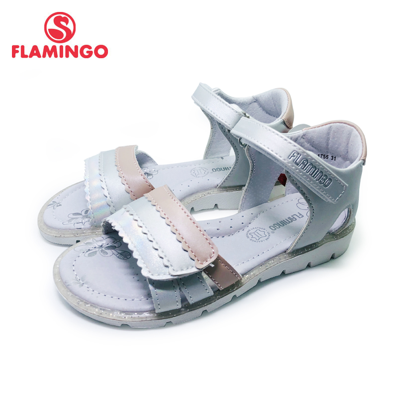 FLAMINGO 2020 Girls' Summer Sequins Adorn The Plus-size Section Of Their Sandals SIZE 31-36# 201S-HL-1755