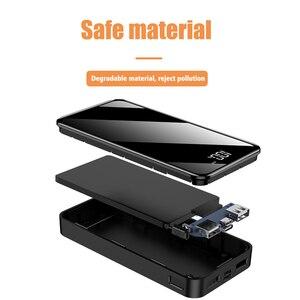 Image 2 - חם כוח בנק 30000mAh Powerbank מטען LED הכפול Usb יציאות חיצוני סוללה Poverbank נייד עבור iPhone 7 8 x שיאו mi mi