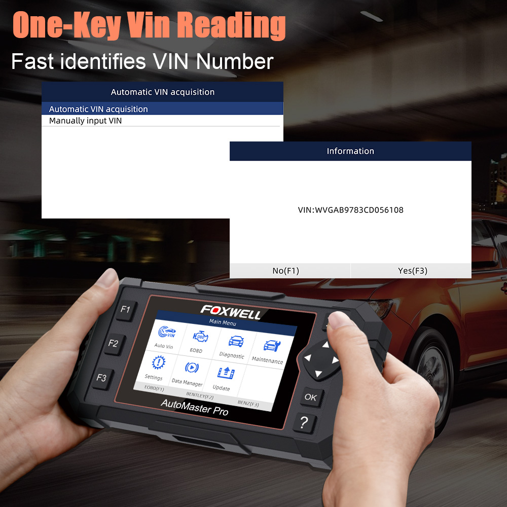 Image 3 - Foxwell NT614 Elite OBD2 Automotive Scanner Engine ABS Airbag AT System EPB Oil Reset Code Read Scanner ODB2 Diagnostic Tool on