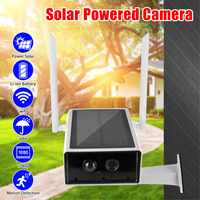 1080P Solar Camera IP Wifi CCTV Camera Outdoor Waterproof Surveillance Cameras Night Vision Audio PIR Home Security
