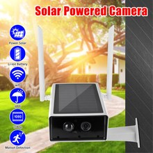 1080P Solar Camera IP Wifi CCTV Camera Outdoor Waterproof Su