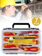Набор отверток 7 шт многофункциональные инструменты электрика