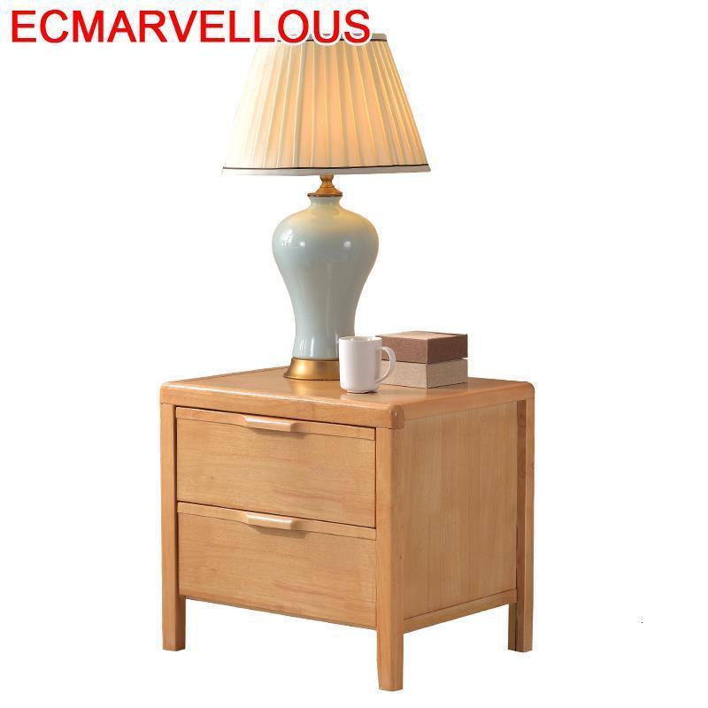 Chevet Meuble Mesillas Noche Para El European Retro Wooden Bedroom Furniture Quarto Cabinet Mueble De Dormitorio Nightstand