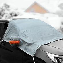 1Pcs Unversal Carro Inverno Cobre À Prova de Poeira À Prova D' Água da Neve do Gelo Chuva Anti-geada Proteção Guarda Auto accessries Carro À Prova D' Água