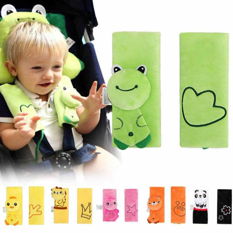 Baby Car Seat Belt Strap Cover Pad Stroller Accessories Safety Shoulder Pad Car Soft Strap Protection Cover Belt Car-Cover