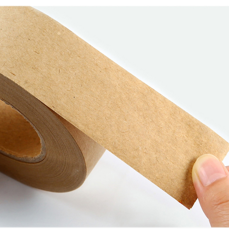 Bgln Painting With Easy Tearing Tape Art Professional 3.6/4.8CM Wide 45M / Roll Wet Water Kraft Paper Sealing Tape Art Supplies