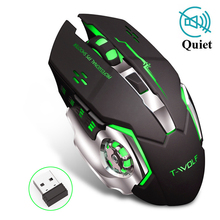 цена на Professional Pro Gamer Adjustable 2400DPI Optical Wireless Gaming Mouse Gamer Mice For PC Laptop Desktop Computer Accessories